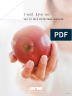 Joe Liotine Lifetime Fitness - Eat Well - Live Well