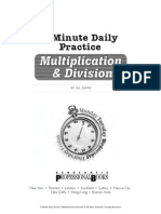 5minuteDailyPractice Multiplication&Division