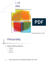 Ch.10  Personality Psychology Experience psychology