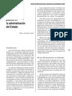 El Documento Público en Bolivia