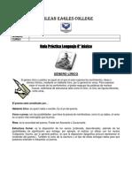Guía Práctica Lenguaje 8
