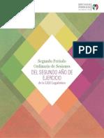 Cuadernillo de iniciativas - 2do Periodo Ordinario de Sesiones