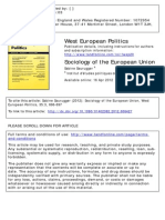 Sauruger_Sociology of the European Union