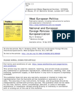 Ginsberg_National and European Foreign Policies