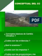 Present 5 Cambio Climatico Marco Conceptual