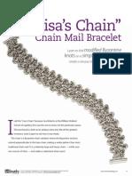 Lisa Chain Mail Bracelet