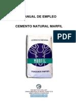 Manual de Empleo Cemento Natural Marfil