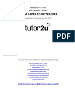 Buss 3 Topic Tracker