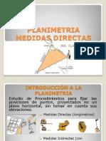 PLANIMETRIA - medidas directas