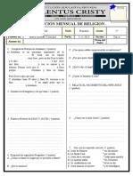 Modelo de Examenes Mensuales
