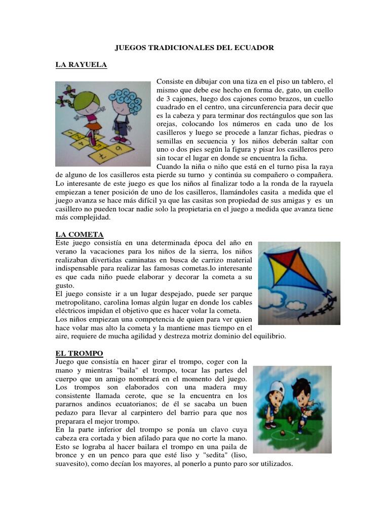 Juegos Tradicionales Del Ecuado1
