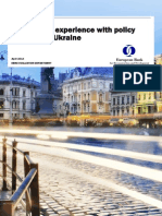 Evaluation of the European Bank for Reconstruction and Development's Experience with Policy Dialogue in Ukraine