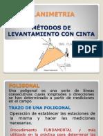 PLANIMETRIA - poligonales
