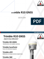 Geocom Trimble R10 GNSS