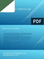 Ventilação Vertical Em Ambientes