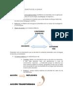 La Investigación en Didáctica de La Lengua