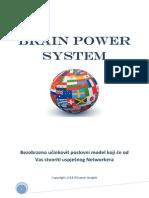 Brain Power System - Priručnik