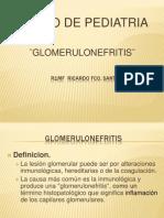 Clase Glomerulonefritis