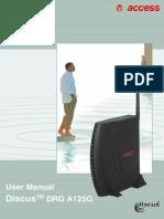 Manual Drg a125g