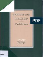 De MAN Paul - História Literária e Modernidade Literária. Poesia Lírica e Modernidade