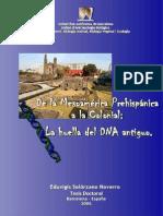 De La Mesoamérica Prehispánica a La Colonial