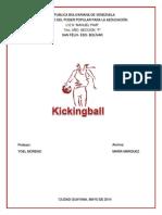 Trabajo de Kickingball