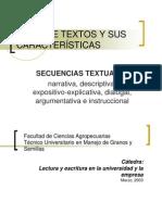 tipos de textos y sus caractersticas.ppt