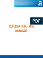 Reformas Tributarias