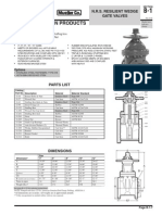 Válvula Compuerta NRS P-2360