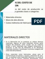 Elementos de Costos de Produccion Sem3