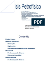 Análsis Petrofísico Registro de Pozos Modificado
