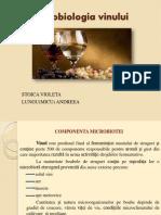 Microbilogia vinului