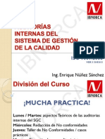 Presentacion Auditorias - Ing. Nuñez