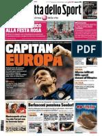 La Gazzetta Dello Sport - 10.05.2014)