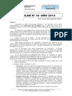 Circular Nro10 Censo 2013 DGE