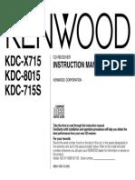 Kenwood Kdc 715s