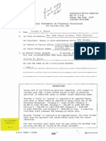 Bruno 1994 Financial Disclosure (GY-03)
