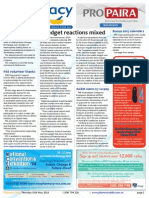 Pharmacy Daily for Thu 15 May 2014 - Budget reactions mixed, Pharma in Future Fund?, PSS volunteer thanks, ACEM slams $7 co-pay and much more