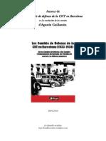 """""""Les comités de défense de la CNT à Barcelone (1933-1938)"""""""