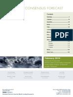 LatinFocus Consensus Forecast - February 2014-2018