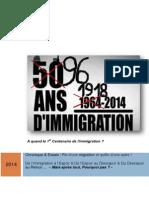 Chronique 50 Ans d'Immigration