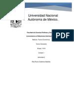 Rita Rocio Gutierrez Bedolla Teoria Economica Unidad 1 Actividad 2