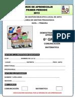 evaluaciondesextogradomatematicarutasdeaprendizaje2013-130826212741-phpapp02