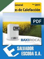 Catalogo BaxiRoca 2011 Pagina 56