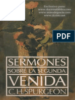 Charles Spurgeon - Sermones Sobre La Segunda Venida
