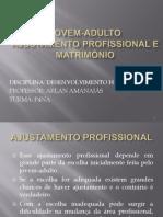 Jovem-Adulto Ajustamento Profissional e Matrimonial