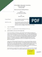 COBA Board Meeting Minutes 1001 (GH-22)