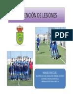 Manual 'Prevención de Lesiones'