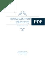 Notas Electronicas 1-1