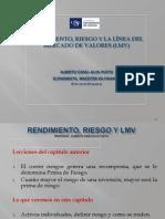II.rendimiento,Riesgo y LMV 2s.1c y 2c.4h.